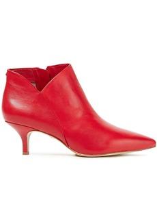 Sam Edelman Woman Kadison Leather Ankle Boots Red