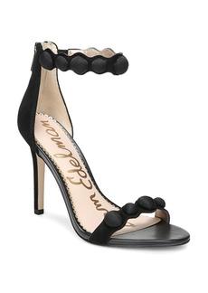 Sam Edelman Women's Addison Suede High-Heel Ankle Strap Sandals