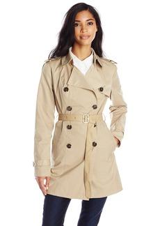 Sam Edelman Women's Adriana Double Breasted Trench Coat