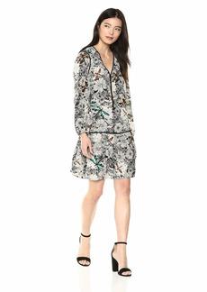 Sam Edelman Women's Blouson Waisted Dress