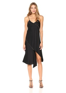 Sam Edelman Women's Cami Dress with Contrast Piping