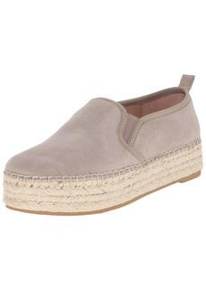 Sam Edelman Women's Carrin Platform Espadrille Slip-On Sneaker Putty  M US