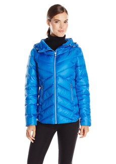 Sam Edelman Women's Clara Lightweight Packable Down Jacket
