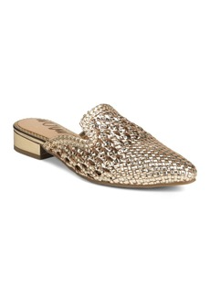 Sam Edelman Women's Clara Woven Leather Mules
