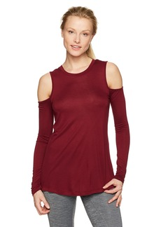 Sam Edelman Women's Cold Shoulder Long Sleeve Tee Shirt  XS