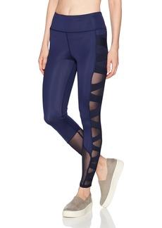 Sam Edelman Women's Criss Cross Mesh Legging  S