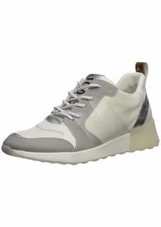 Sam Edelman Women's Darsie Sneaker White/Fog Grey/Soft Silver  M US
