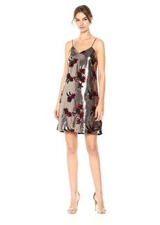 Sam Edelman Women's Flower Sequin Cami Dress