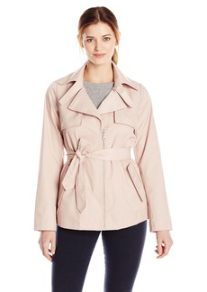 Sam Edelman Women's Gabriella Short Trench Coat
