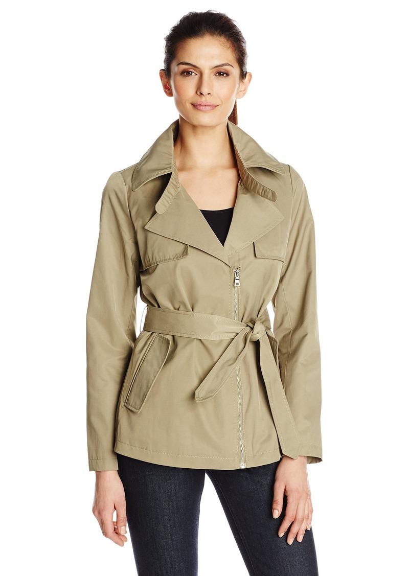 Sam Edelman Sam Edelman Women's Gabriella Short Trench Coat X ...