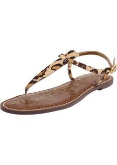 Sam Edelman Women's Gigi Classic Flat Sandal   Medium US