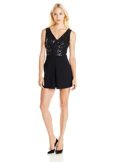 Sam Edelman Women's Holly Double V Mini Dress