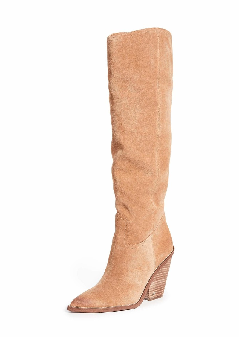 Sam Edelman Women's Indigo Knee High Boot  9.5 Medium US