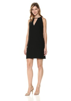 Sam Edelman Women's Keyhole Straight Shift Dress