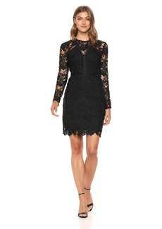 Sam Edelman Women's Lace Dress with Studding Detail