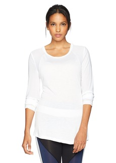Sam Edelman Women's Long Sleeve Mesh Back Tee  XL