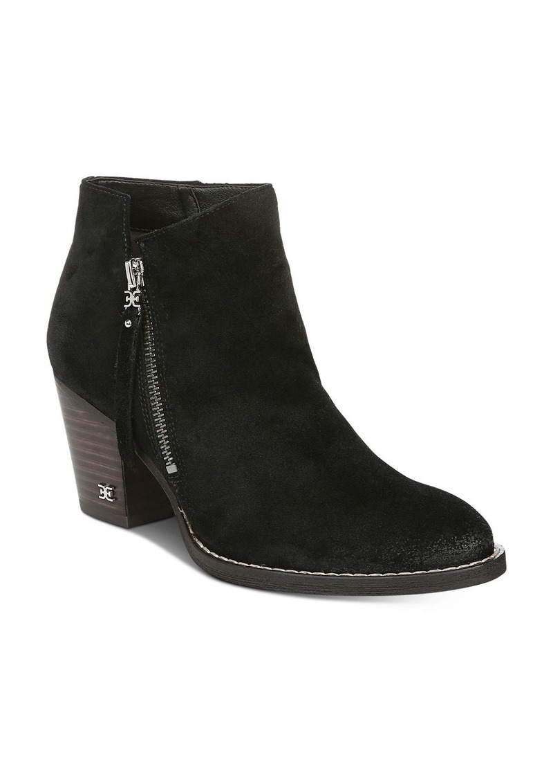 Sam Edelman Women's Macon Block Heel Ankle Booties
