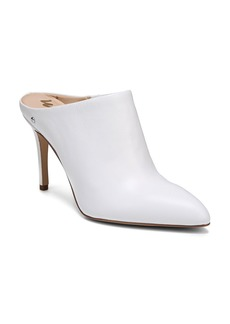 Sam Edelman Women's Oran Leather High Heel Mules