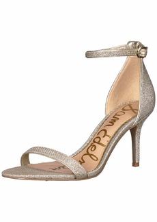 Sam Edelman Women's Patti Heeled Sandal Jute Glam mesh  M US