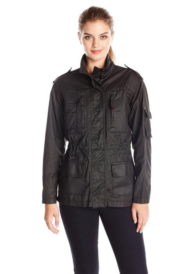 Sam Edelman Women's Perrie Coated Military Jacket