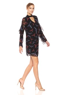 Sam Edelman Women's Print Choker Dress