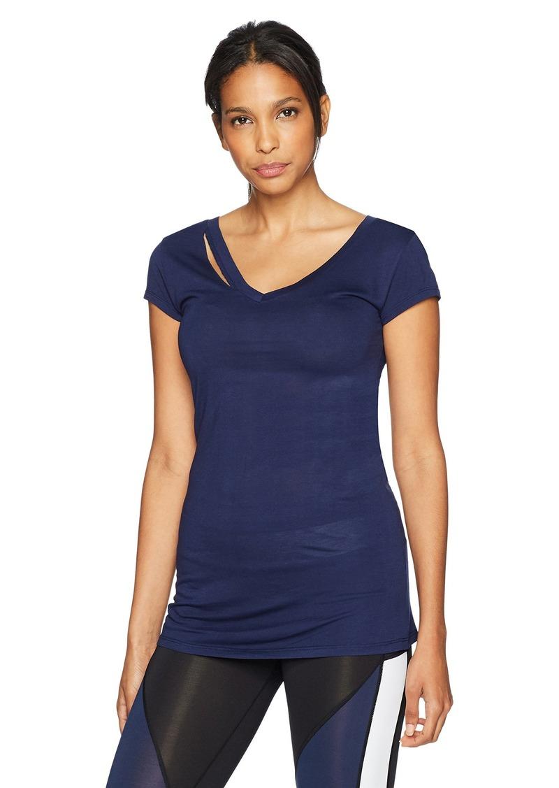 Sam Edelman Women's Ripped Short Sleeve Tee Shirt  XL