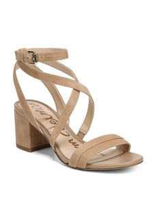 Sam Edelman Women's Sammy Suede Strappy Block Heel Sandals
