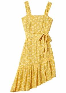 Sam Edelman Women's Sleeveless Asymmetrical Midi Dress