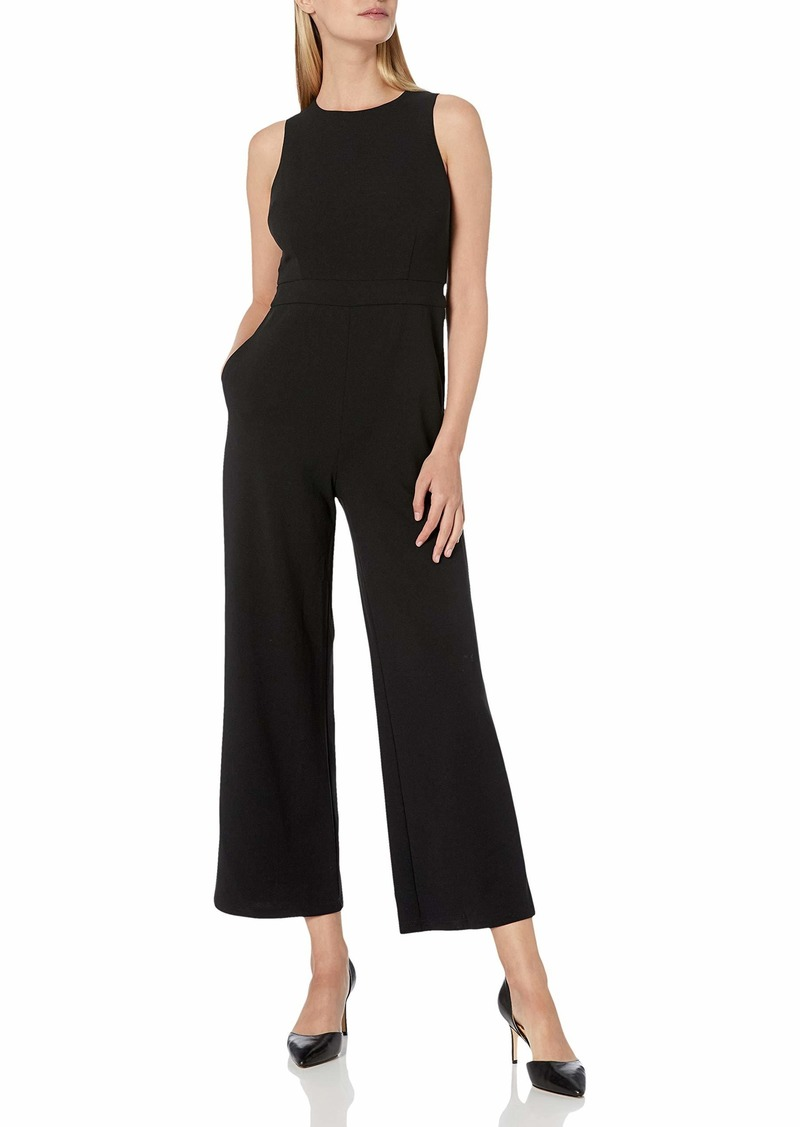Sam Edelman Women's Sleeveless Bow Back Tie Jumpsuit