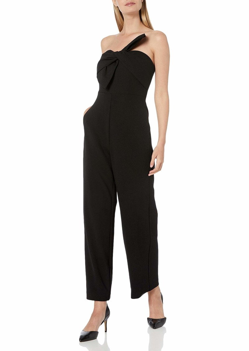 Sam Edelman Women's Sleeveless Bow Front Jumpsuit