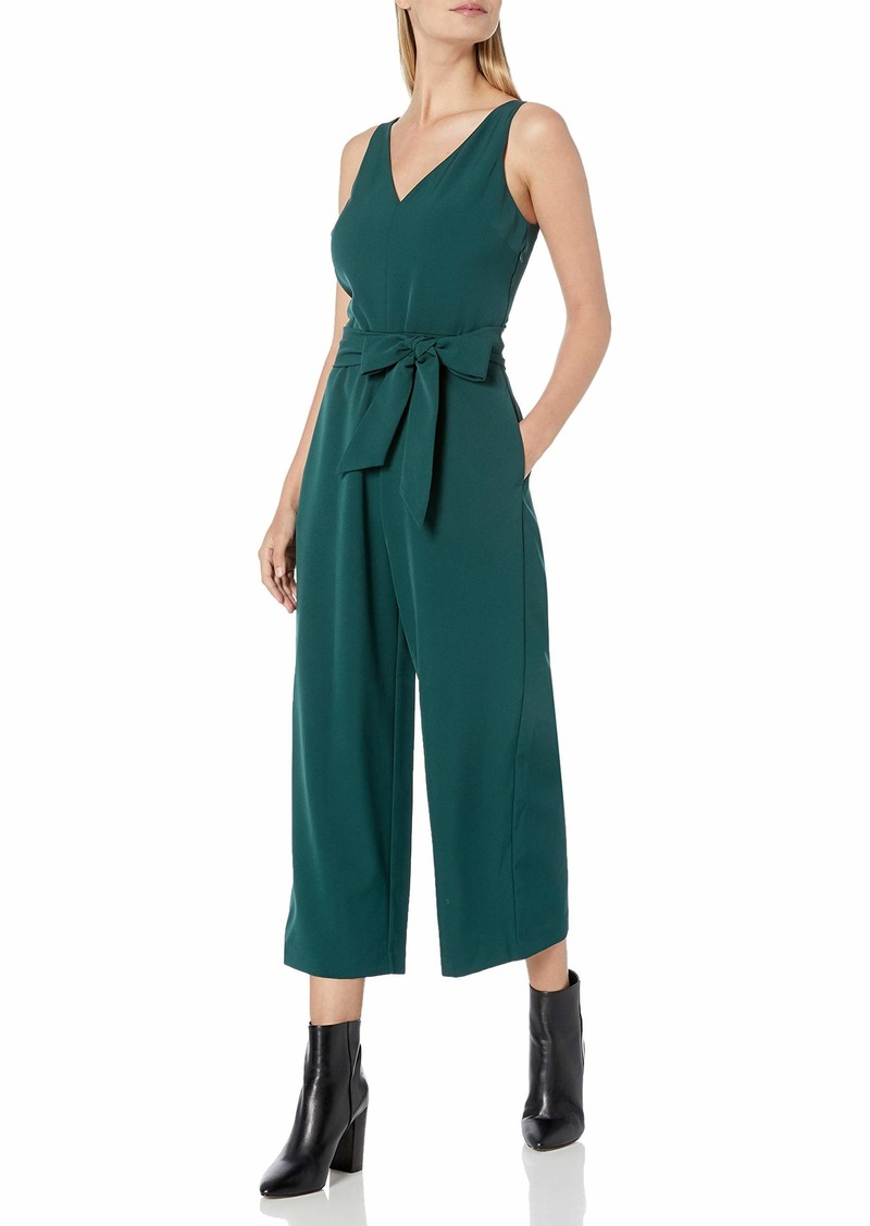 Sam Edelman Women's Sleeveless V-Neck Jumpsuit