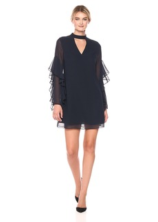 Sam Edelman Women's Solid Choker Shift Dress