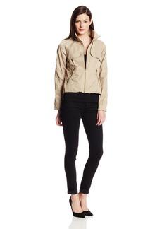 Sam Edelman Women's Stacie Lightweight Crop Anorak Jacket  X-Large