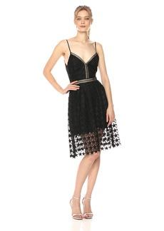 Sam Edelman Women's Star Lace Midi Dress