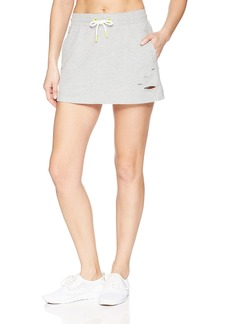 Sam Edelman Women's Sweat Skirt with rips