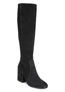 Sam Edelman Women's Thora Suede Tall Block Heel Boots