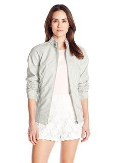 Sam Edelman Women's Vegan Leather Moto Jacket