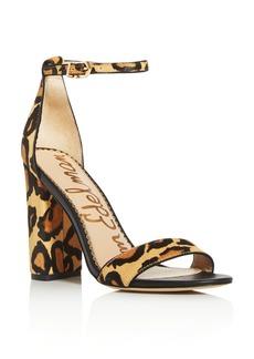 Sam Edelman Women's Yaro Animal Print High-Heel Sandals