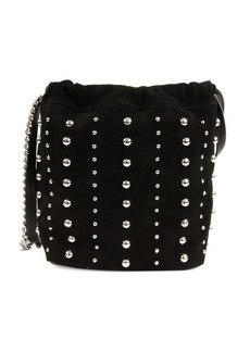 Sam Edelman Saville Studded Suede Bucket Bag