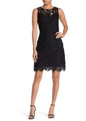 Sam Edelman Sleeveless Lace Sheath Dress