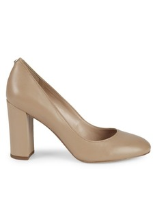 Sam Edelman Stillson Leather Block Heel Pumps