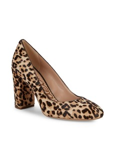 Sam Edelman Stillson Leopard Calf-Hair Pumps