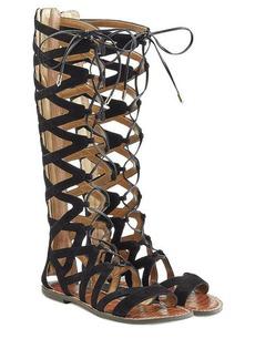 Sam Edelman Suede Lace-Up Sandals