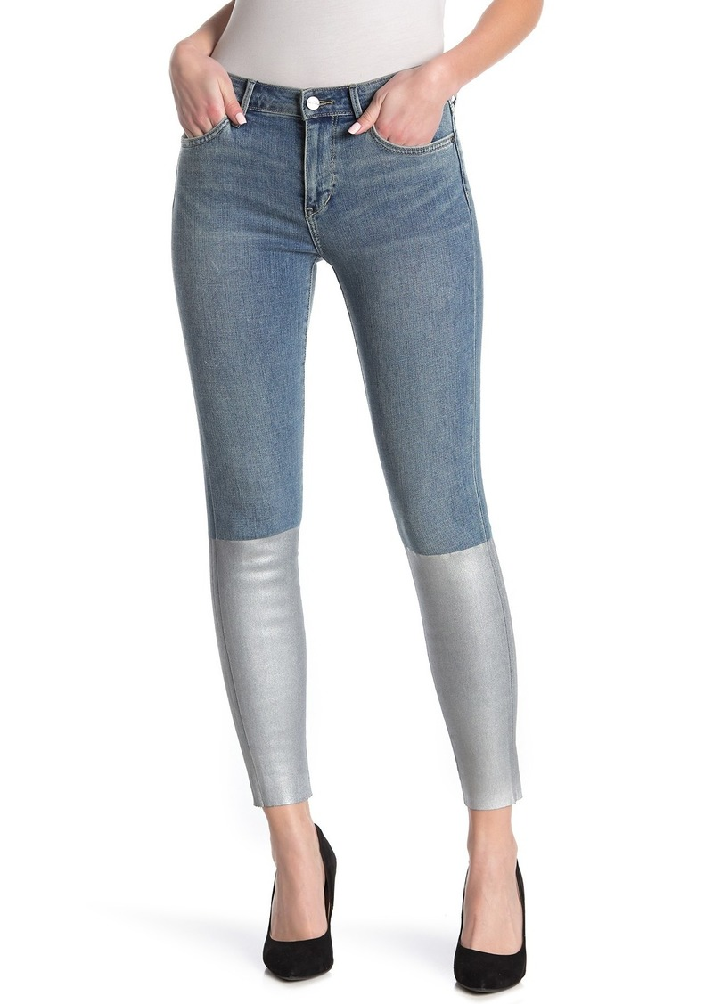 Sam Edelman The Kitten Two-Tone Skinny Jeans