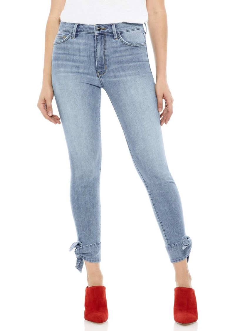 Sam Edelman The Stiletto Ankle Tie Jeans