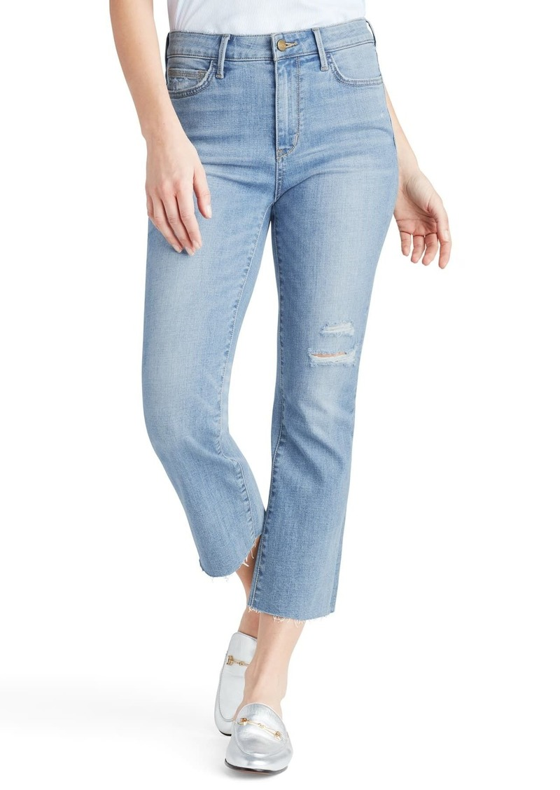 Sam Edelman The Stiletto Crop Kick Flare Jeans
