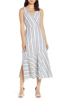 Sam Edelman Tie Shoulder Maxi Dress