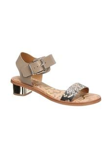 Sam Edelman Trina Block Heeled Leather Sandals