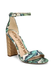 Sam Edelman Wallpaper Palm Print Sandals