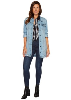 Sanctuary Ain't Nobody Perfect Denim Long Jacket